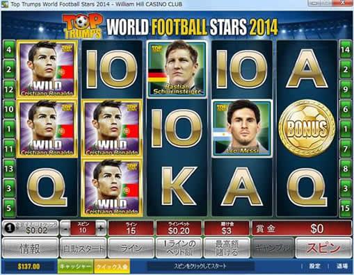 Top Trumps World Football Stars 2014