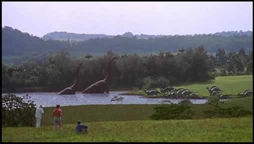 恐竜が甦った