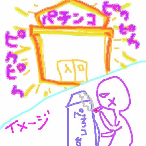 パチンコ店のイメージ