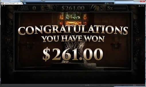87倍の$261獲得