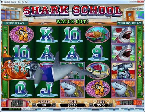 サメ生徒に捕食される