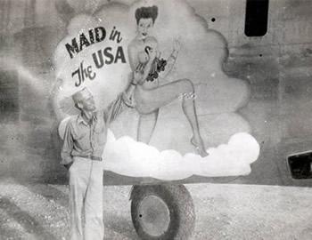 戦時中のボディに描かれていたらしい