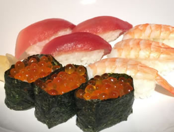 お寿司が届きました