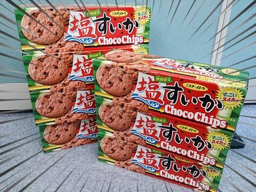 塩スイカクッキー