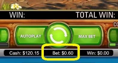 0.6ドルベット