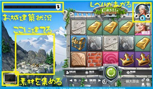 キャッスルビルダー2のゲーム画面