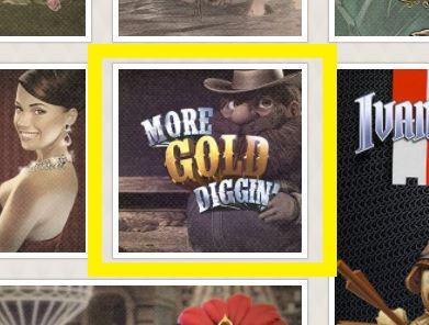モア・ゴールド・ディギンを選択