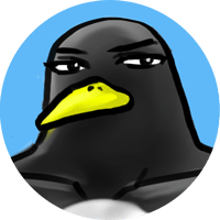 ライターの往生ペンギン