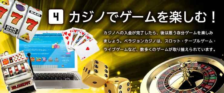 カジノでゲームを楽しむ