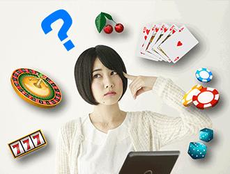 オンラインカジノのことを知りたい女性