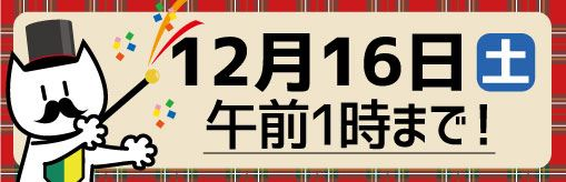 期限は12月16日まで
