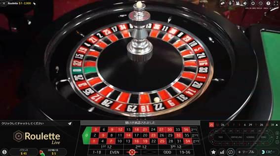 ライブカジノ・パリ
