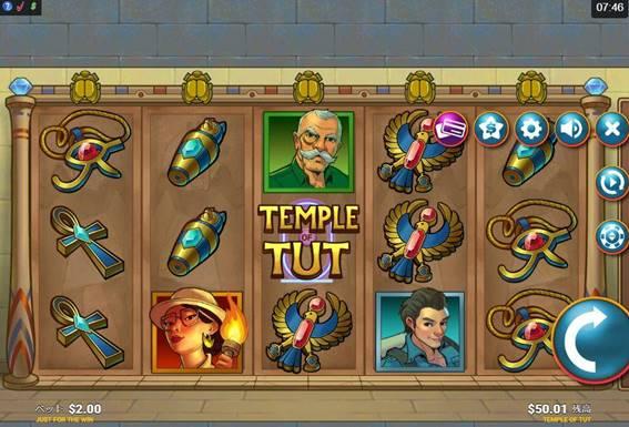 TEMPLE TUTをプレイ