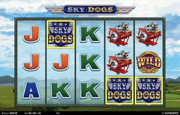 sky dogsをプレイ