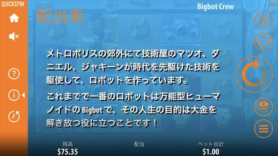 BIGBOT CREWのストーリー