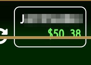 ジャンボリーに50ドル入金