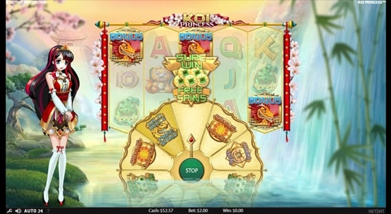 SURE WIN FREE SPINS
