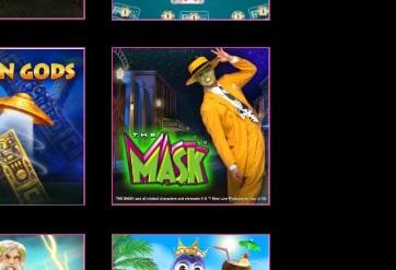 マスクを発見