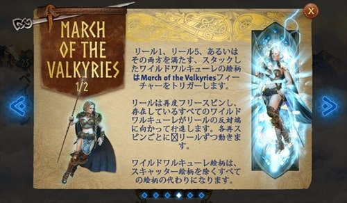 MARCH OF THE VALKYRIES