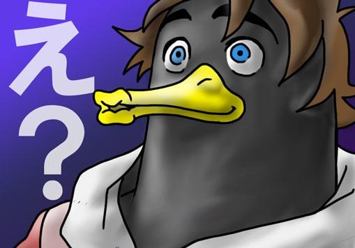 ニジウラセブン風のペンギン