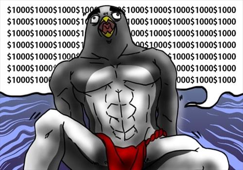 壊れたペンギン