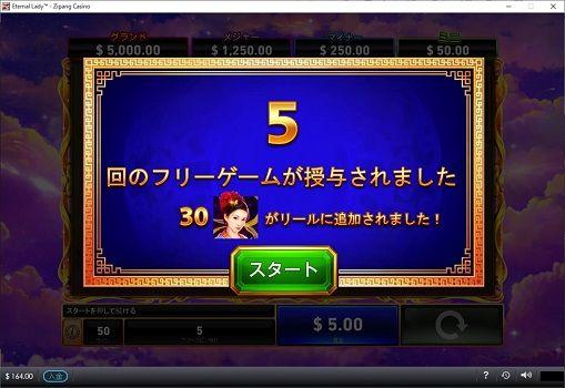 ゲーム数は5回転