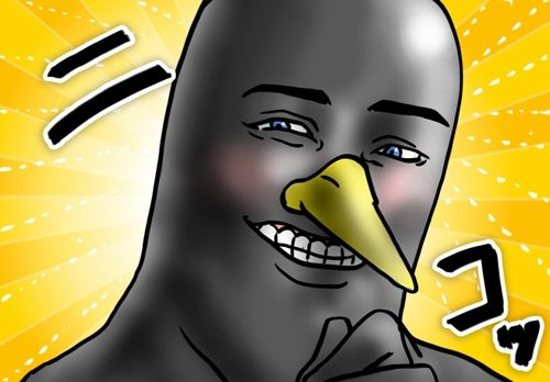 爽やかなペンギン