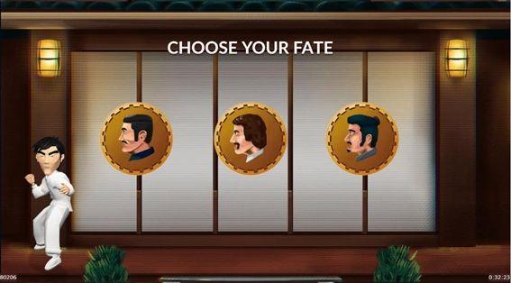 3人の男たちを選ぶ