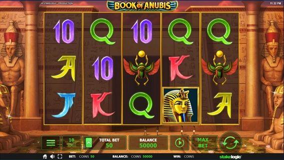 Book of Anubisプレイ画面