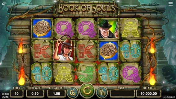 Book of Soulsプレイ画面