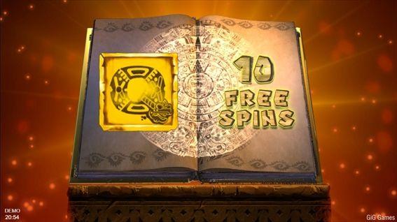 本が開いて特殊シンボルが決まる