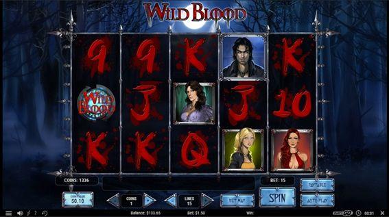 WILD  BLOODプレイ画面