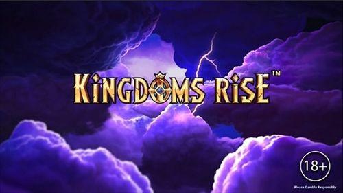 Kingdoms Riseタイトル画面