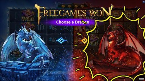 アイスドラゴンorファイヤドラゴンから選ぶ