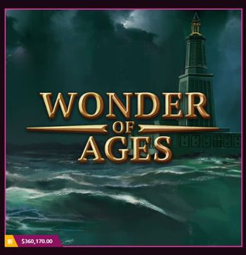 新スロ『WONDER OF AGES』