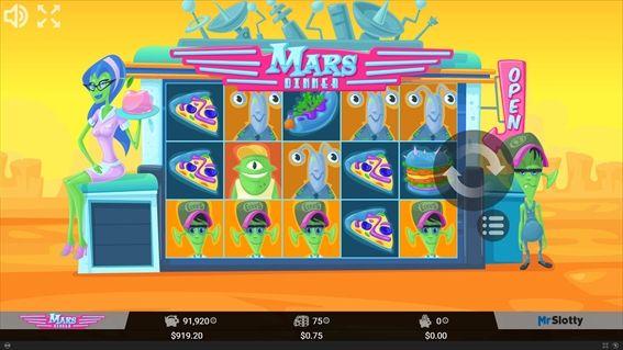 MARS DINNERプレイ画面