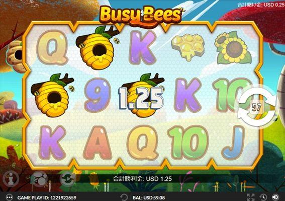 ハチの巣が3つならハニーポットというボーナスに突入