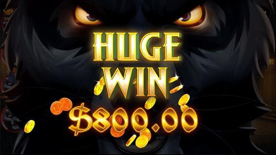またHUGEWIN$800.00