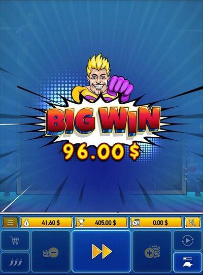 BIGWIN$96.00獲得