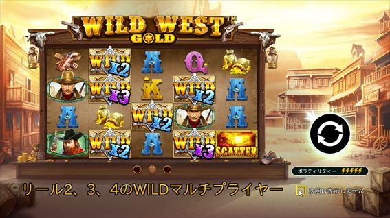 WILD WEST GOLD説明