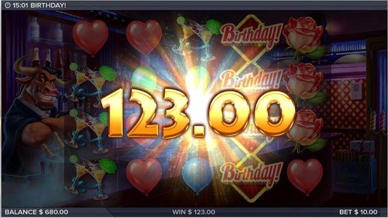 123.00獲得