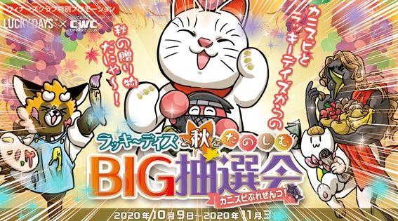 BIG抽選会バナー