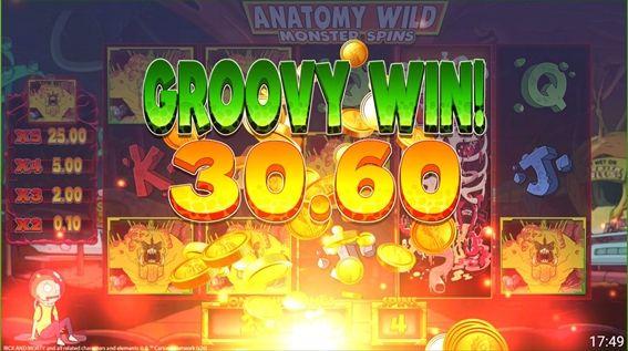 GROOVYWIN30.60獲得