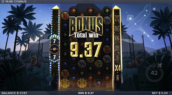 BONUS9.37獲得
