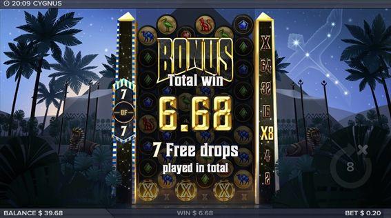 BONUS6.68獲得