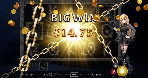 BIGWIN$14.75獲得