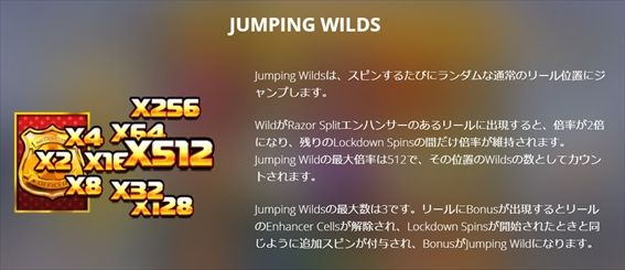 JUMPING WILDS