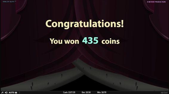 435コイン獲得