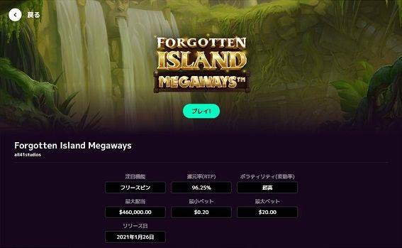 Forgotten Island説明