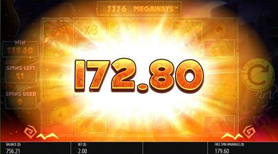 172.80獲得